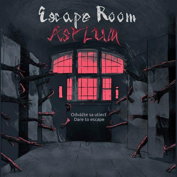 Skup. vstup pre 2-4 hráčov do Asylum Escape Room