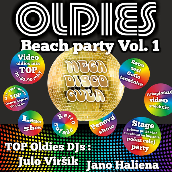 OLDIES Beach party Vol.1