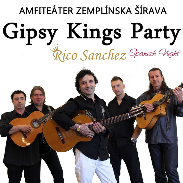 Rico Sanchez Gipsy Kings Party