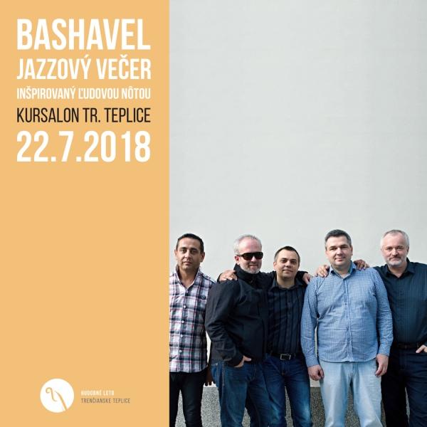Bashavel - Jazzový večer inšpirovaný ľudovou nôtou