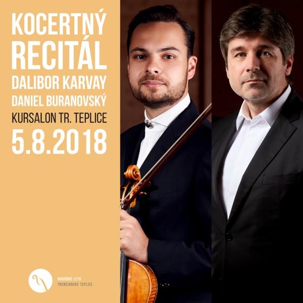 Koncertný recitál – D. Karvay a D. Buranovský