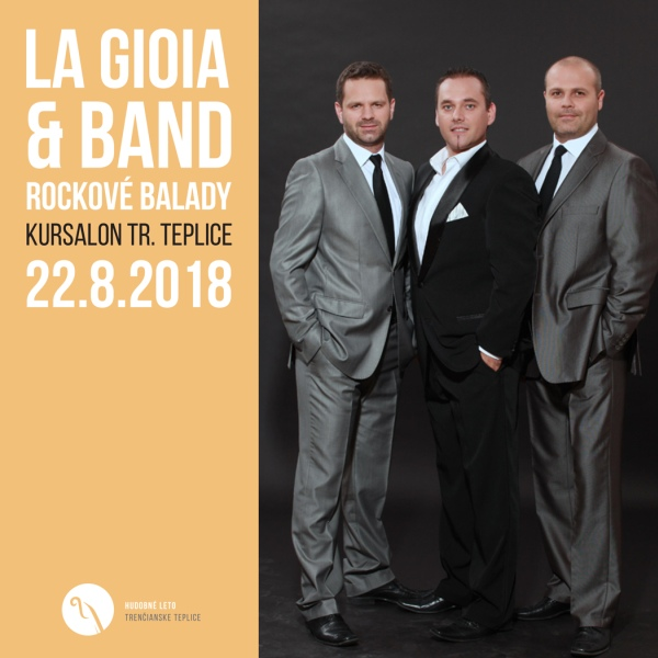 La Gioia & Band - Rockové balady