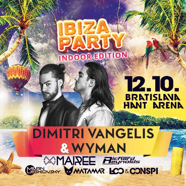 IBIZA PARTY 2018 indoor edition