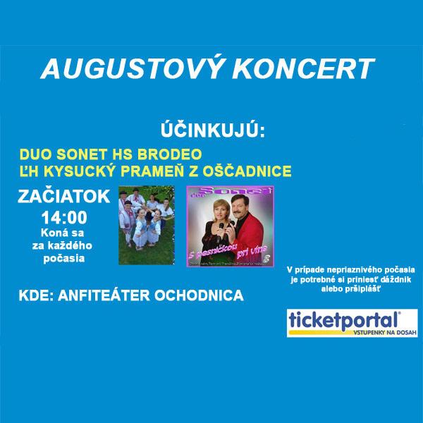 Augustový koncert