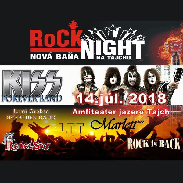 Rocková noc na Tajchu, Nová Baňa