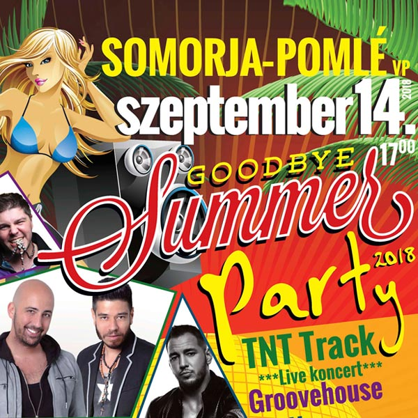 Goodbye Summer Party 2018