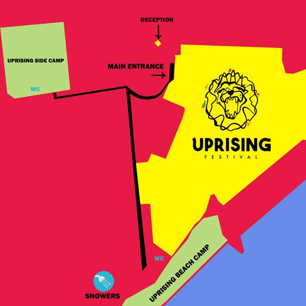 Uprising Beach Camp 2018