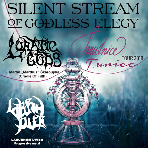 Silent Stream of Godless Elegy & Lunatic Gods tour