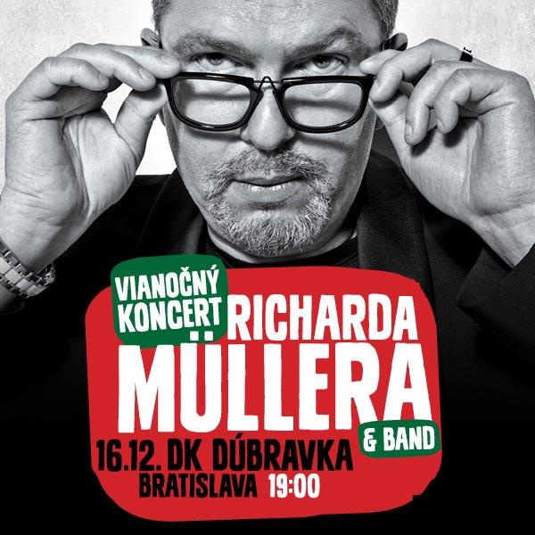 Vianočný koncert Richarda Müllera & band