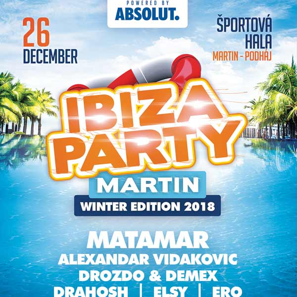 Ibiza party In door edition 2018 Martin