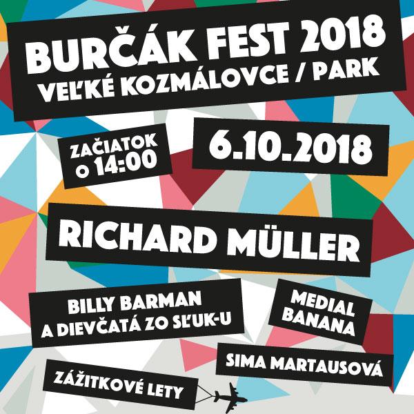 BURČÁK FEST  2018 Veľké Kozmálovce