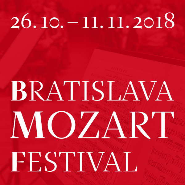 MOZART: REQUIEM - Bratislava Mozart Festival 2018