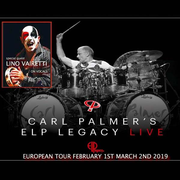 Carl Palmer with special guest Lino Vairetti
