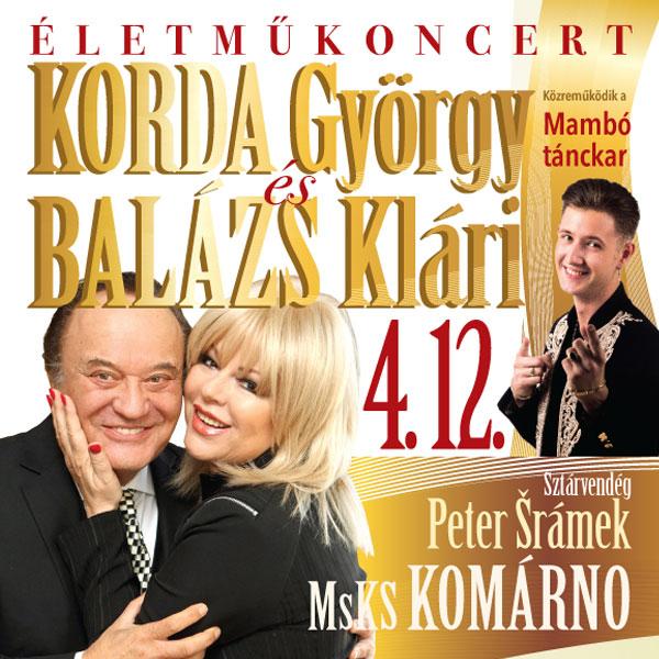 Korda György a Balázs Klári hosť Peter Šrámek