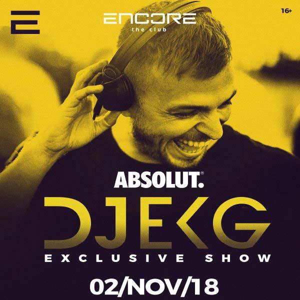 DJ EKG vEncore the club