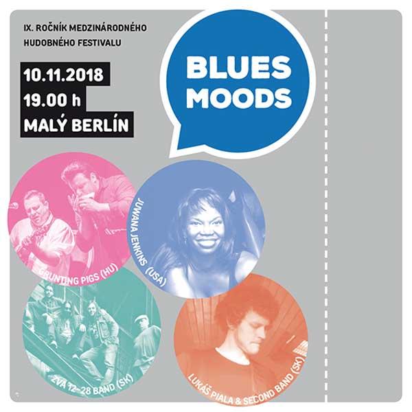 Trnavský hudobný festival - BLUES MOODS 2018
