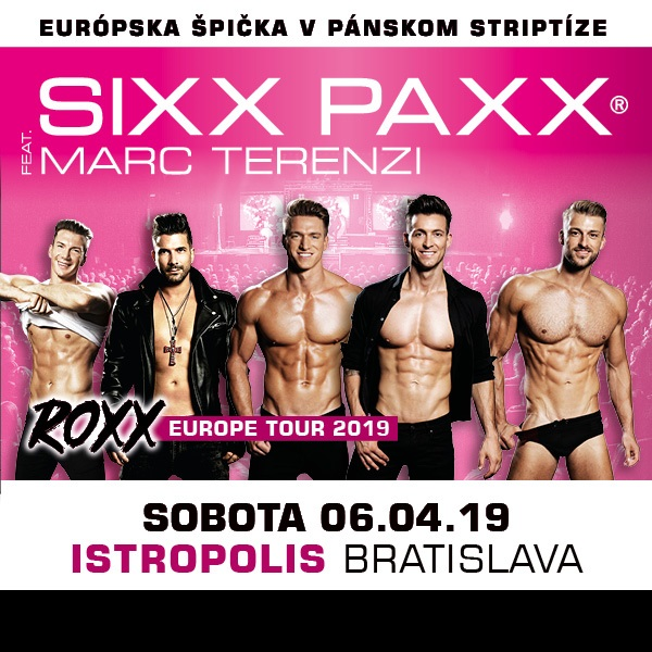 SIXX PAXX Menstrip Show