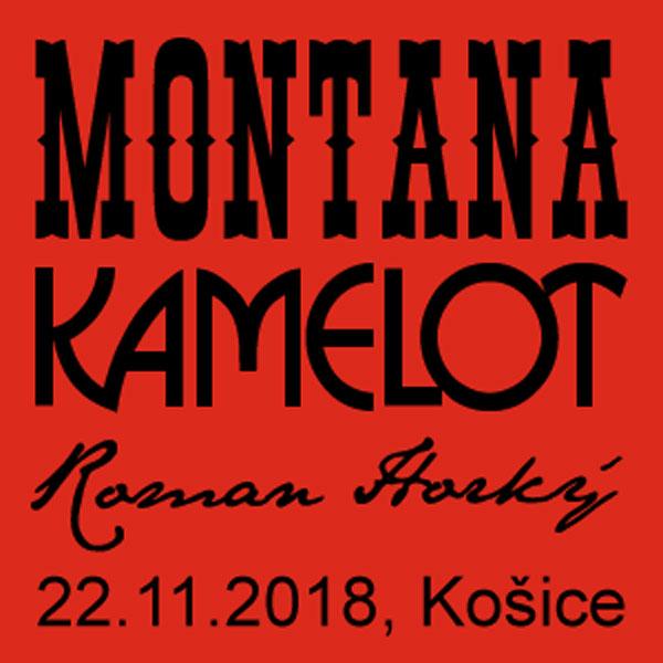 Koncert skupín MONTANA + KAMELOT