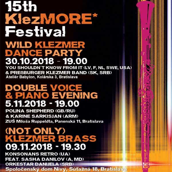 15th KlezMORE Festival Vienna & Bratislava