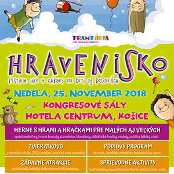 HRAVENISKO – festival hier a zábavy