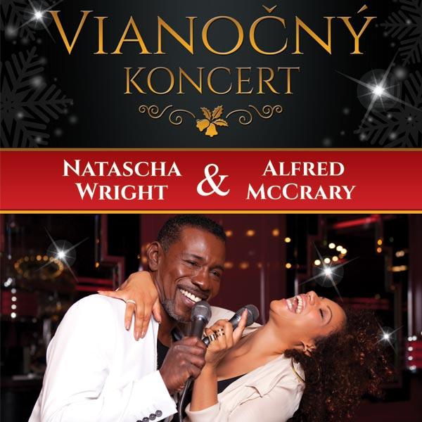 Vianočný benefičný koncert Natascha Wright