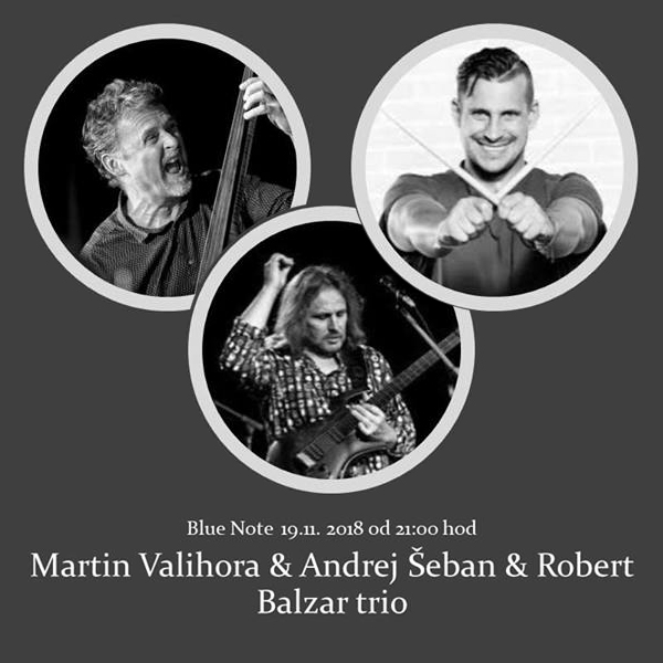 Valihora a Šeban a Balzar Trio