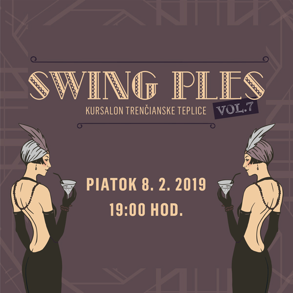 Swing ples Kursalon Trenčianske Teplice