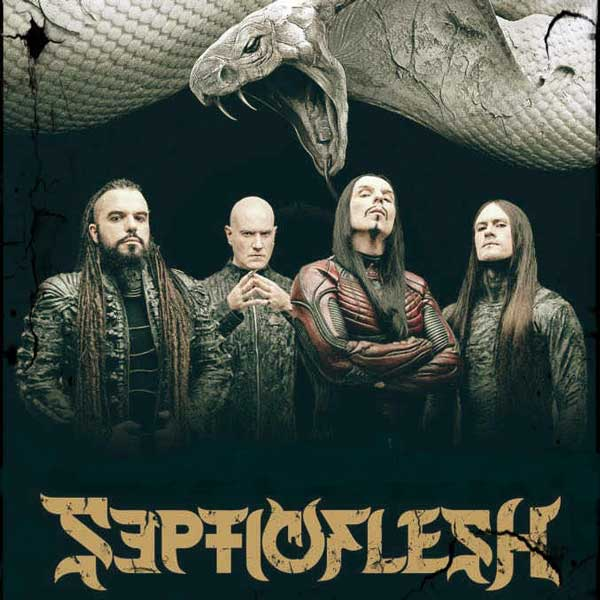 SEPTICFLESH / Codex Omega tour European Tour 2019