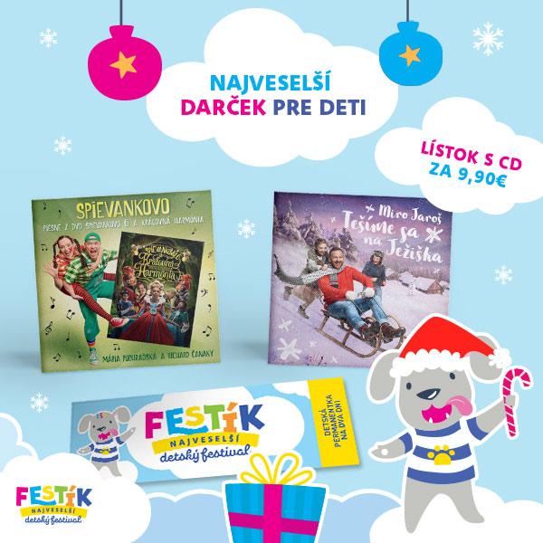 Vianočný balíček Festík 2019