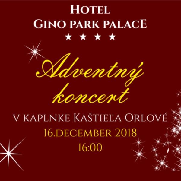 Adventný koncert v kaplnke Kaštieľa Orlové