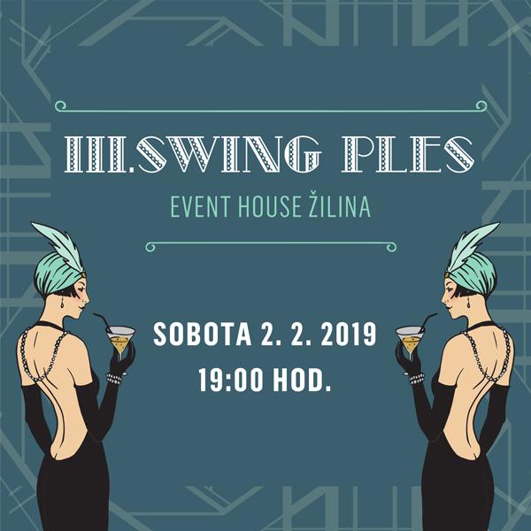 Swing Ples Event House Žilina