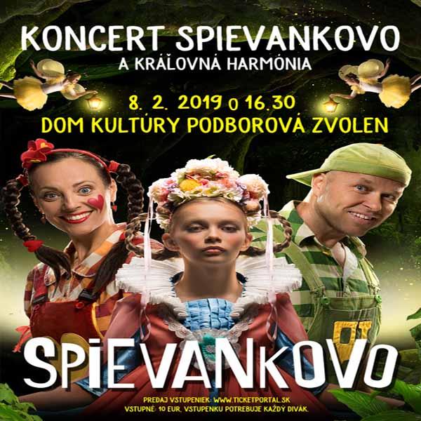 Koncert Spievankovo - Kráľovná Harmónia