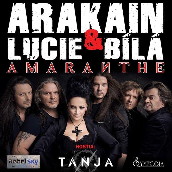 Arakain + Lucie Bílá + hostia