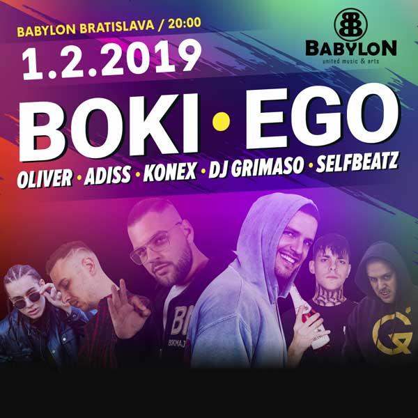 EGO, BOKI, ADISS, KONEX, DJ GRIMASO, OLIVER