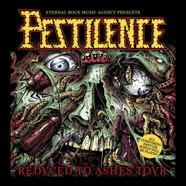 "PESTILENCE  ""Consuming Impulse Anniversary"""