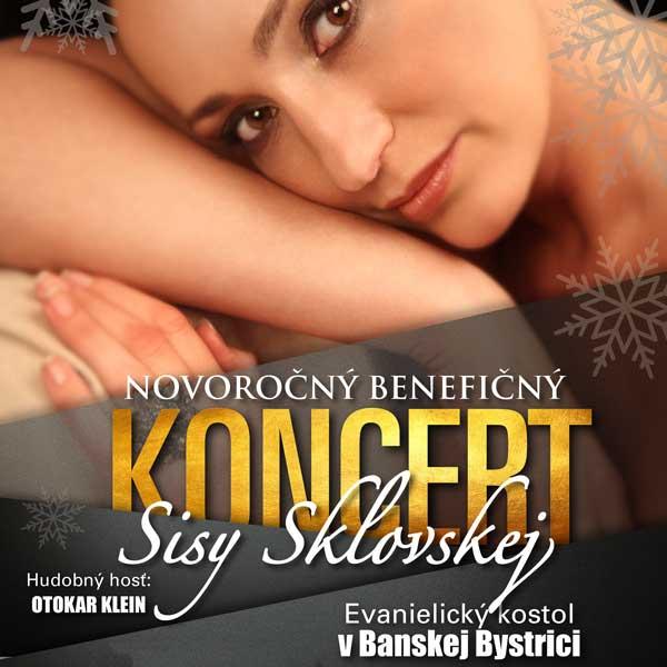 Novoročný benefičný koncert Sisy Sklovskej
