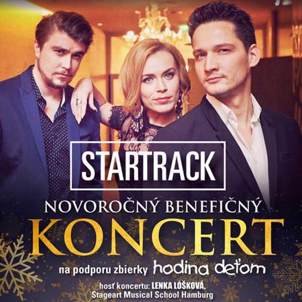 Novoročný benefičný koncert STARTRACK
