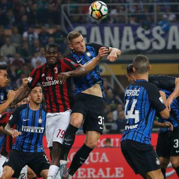 AC Miláno – Inter Miláno (autobusom)