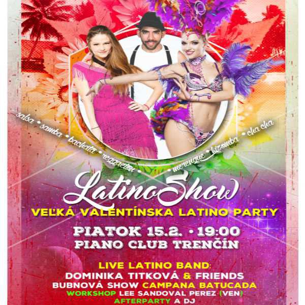 Latinoshow - Veľká Valentínska Latino Party