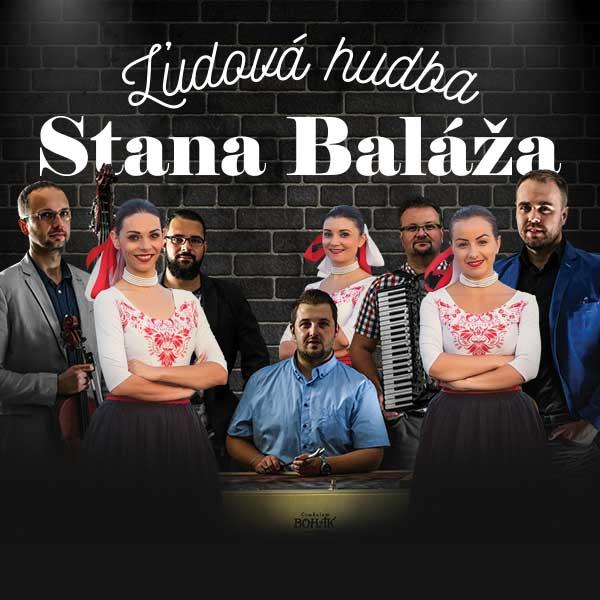 Ľudová hudba Stana Baláža - koncert