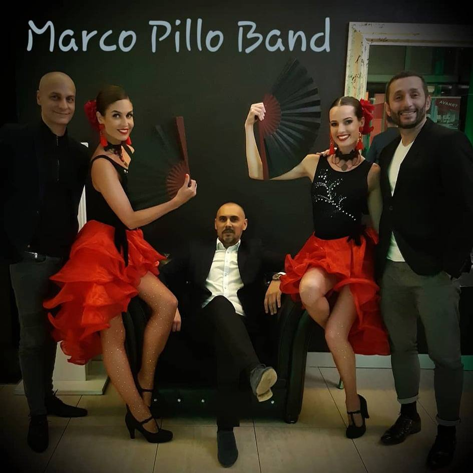 Marco Pillo Salsa Band – Latino párty