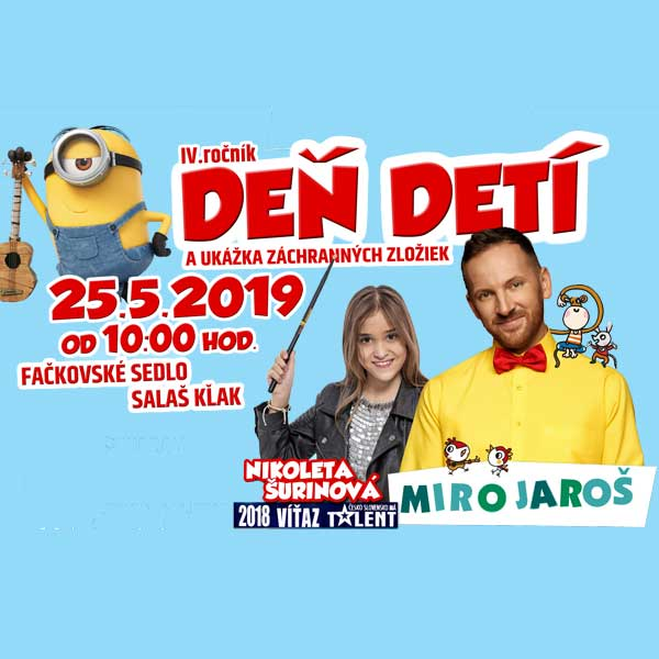 Deň detí s Mirom Jarošom a Mimoňmi