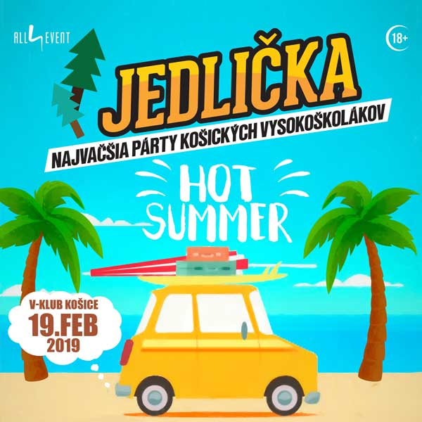 JEDLIČKA 2019 - HOT SUMMER