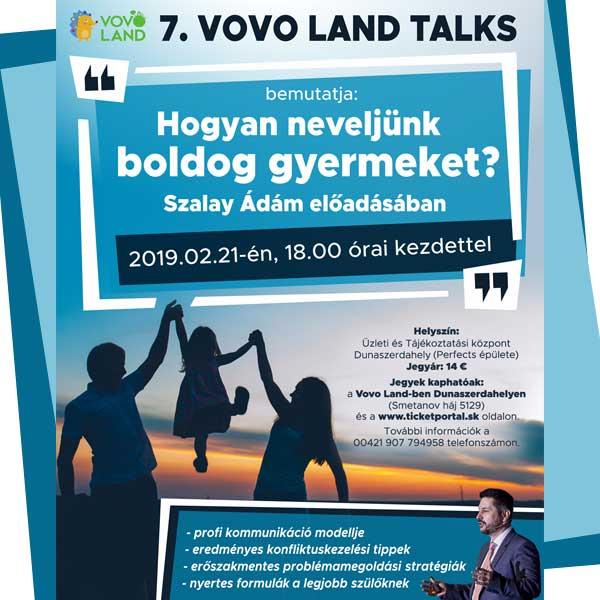 7.Vovoland Talks HOGYAN NEVELJÜNK BOLDOG GYERMEKET