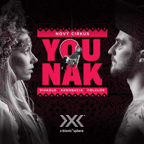 Nový cirkus YOUNAK exkluzívne v x-bionic® sphere