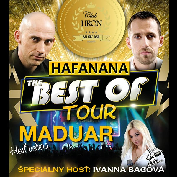 MADUAR – Hafanana The BEST of TOUR