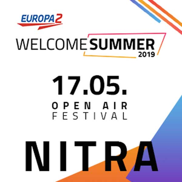 Europa 2 Welcome summer NITRA