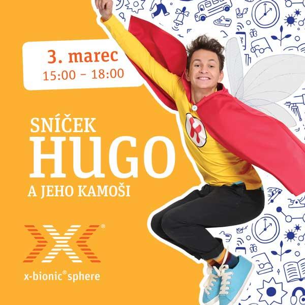 Sníček Hugo a jeho kamoši v x-bionic® sphere