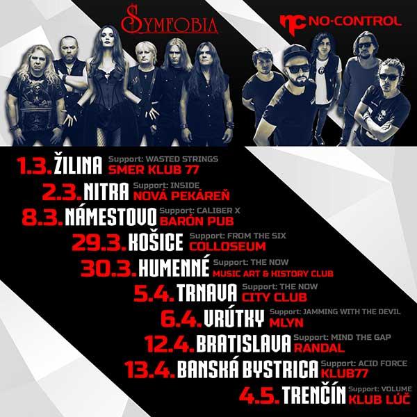 Symfobia + NoControl Tour