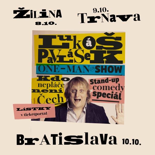 Lukáš Pavlásek /CZ/ stand-up comedy, zábavná show